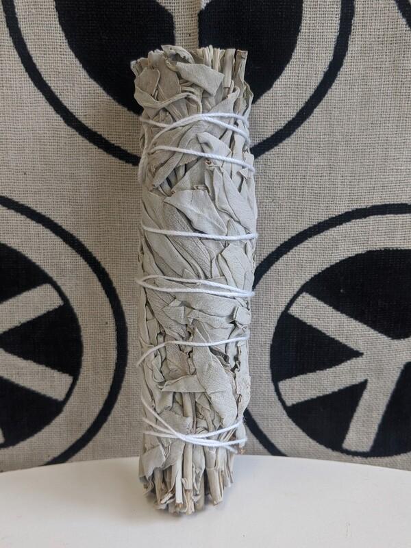 """Large 6"""" White Sage Bundle"""