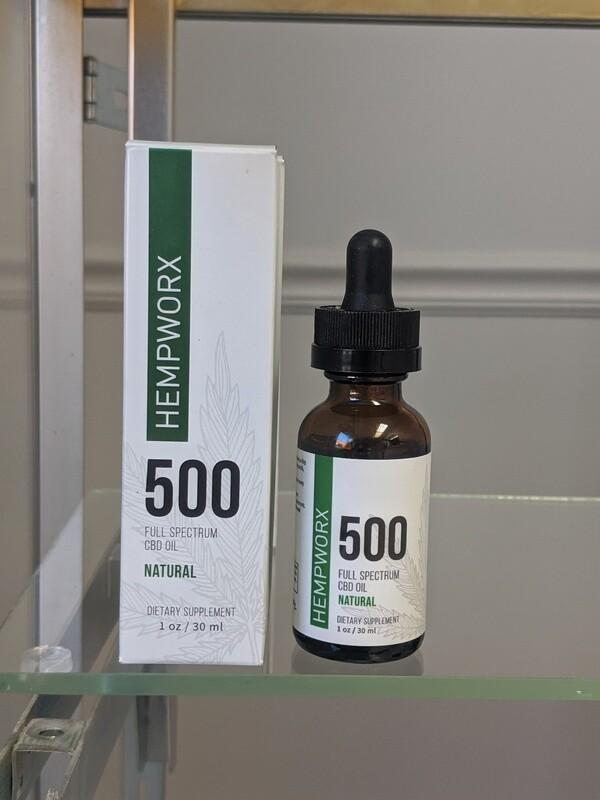 Hempworx 500mg (FULL SPECTRUM) CBD Oil