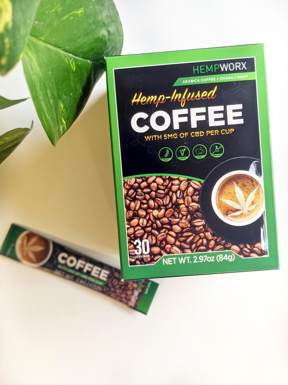 Hempworx Hemp Infused Coffee THC Free