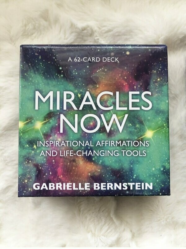 Miracles NOW Oracle Deck