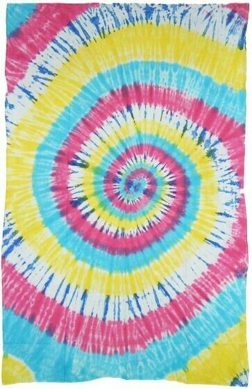 Spiral Tie Dye Tapestry