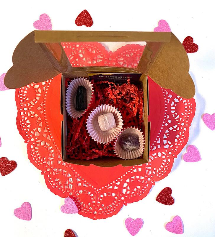 3 Piece Crystal Gift Box