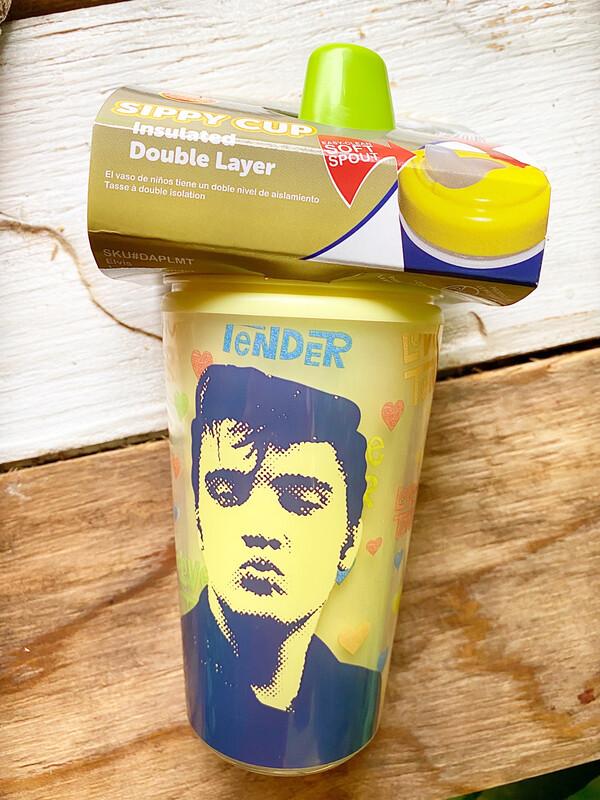 "Elvis ""Love Me Tender"" Supply Cup By Daphyls"