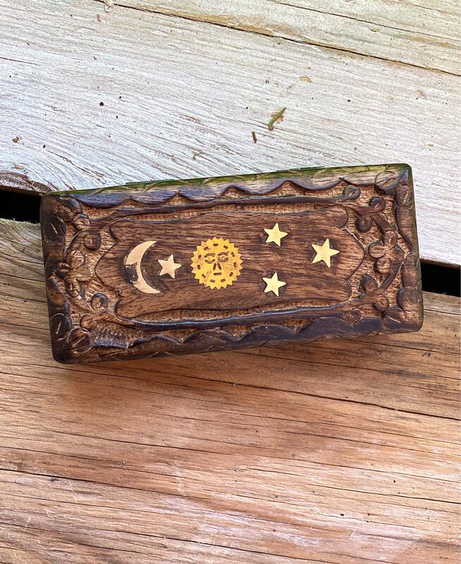 Celestial Inlay Wooden Box