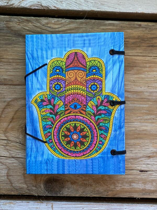 Hamsa Hand Of Compassion Blank Book