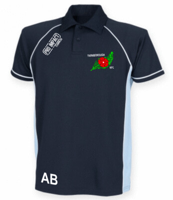 FRFC Tech Polo Shirt printed crest ( adult Sizes)