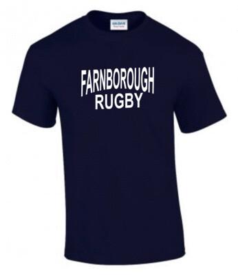 FRUFC Navy Cotton T-Shirt