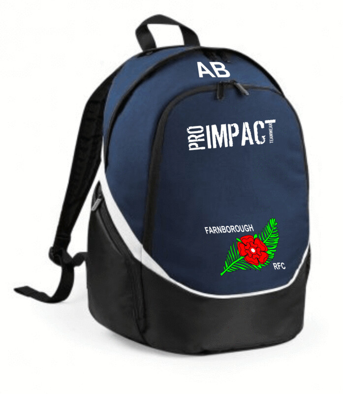 FRUFC  Backpack with initials