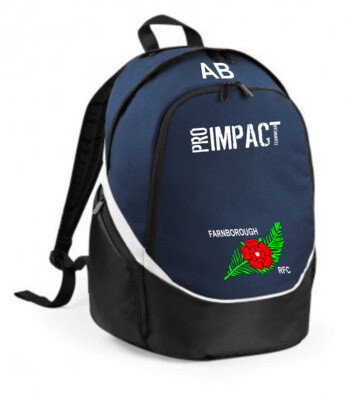 UPLAX Backpack with initials