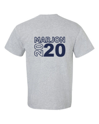 Sports Grey Graduation T-Shirt