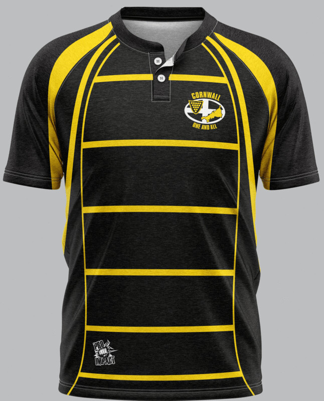 Cornwall Supporters Rugby Jersey