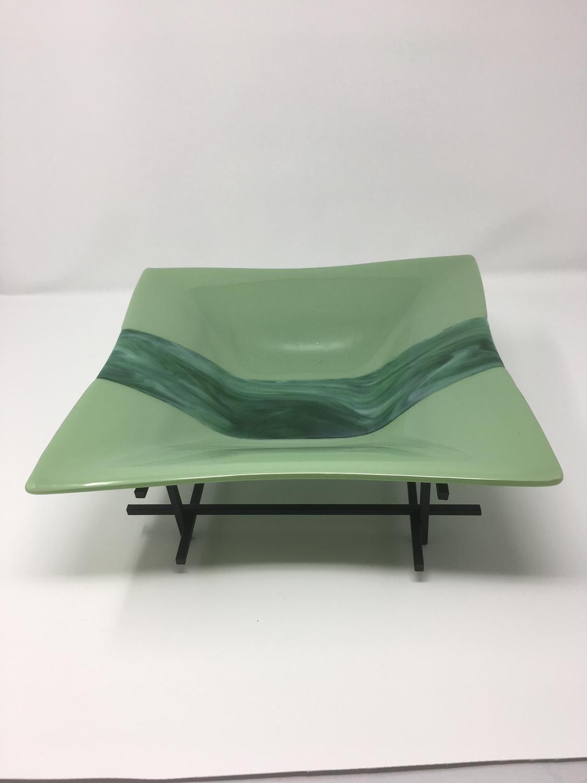12 x 12 Celadon Green Bowl