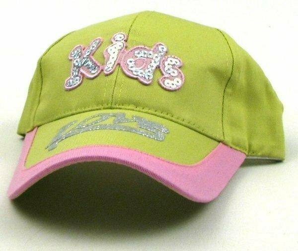 Green Kids Cap