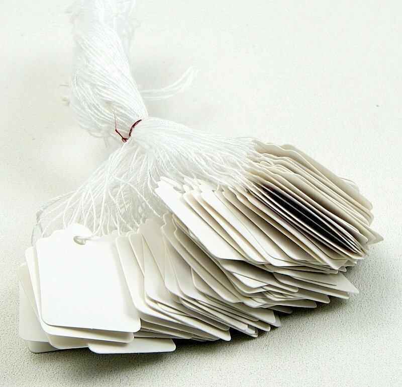 White String Tag #3