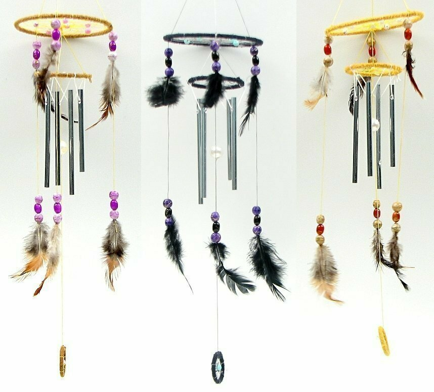 Dream Catcher Chime 3 Assorted Styles Priced Each
