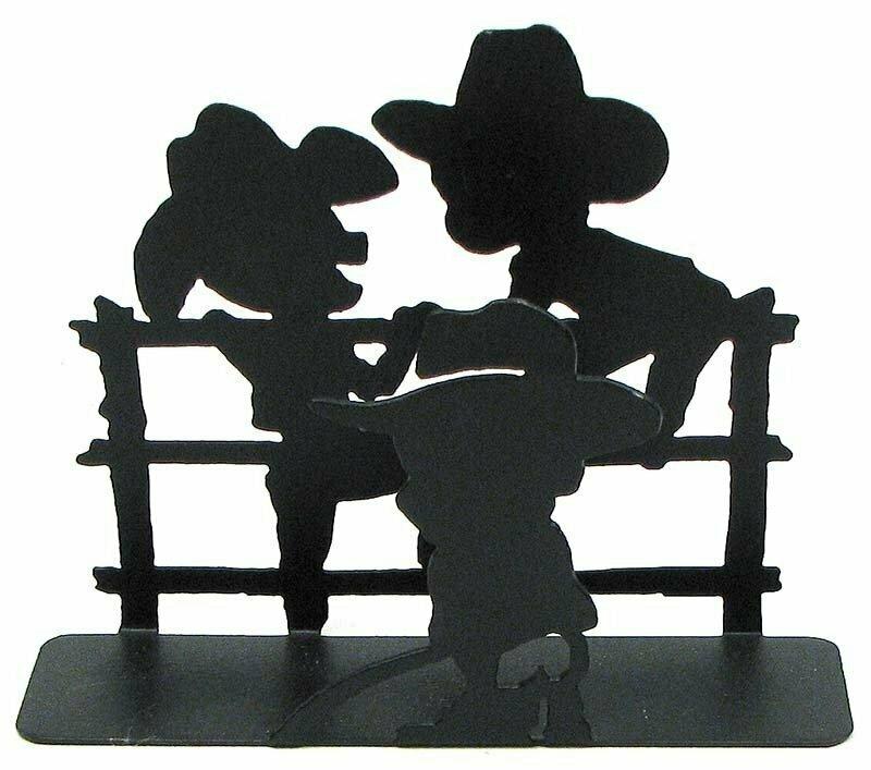 Cowboy Napkin/Letter Holder
