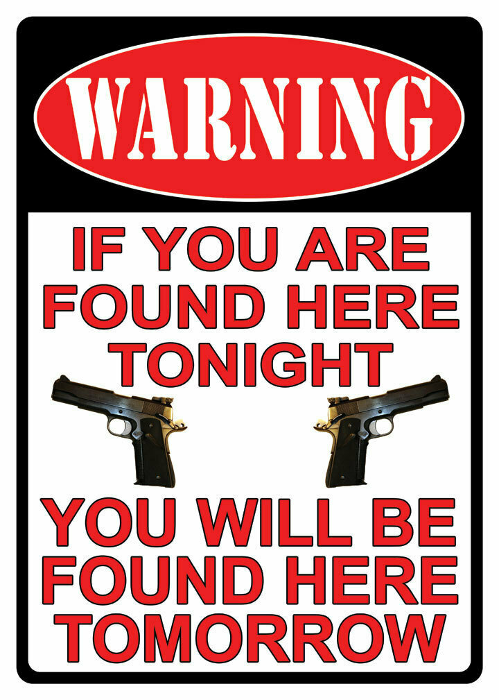 WARNING If You're Found