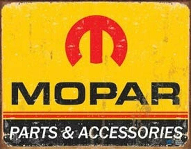 Tin Sign Mopar Logo '64 - '71