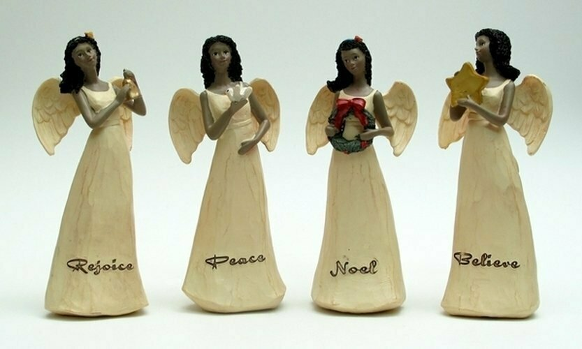 Ebony Angels Set of Four