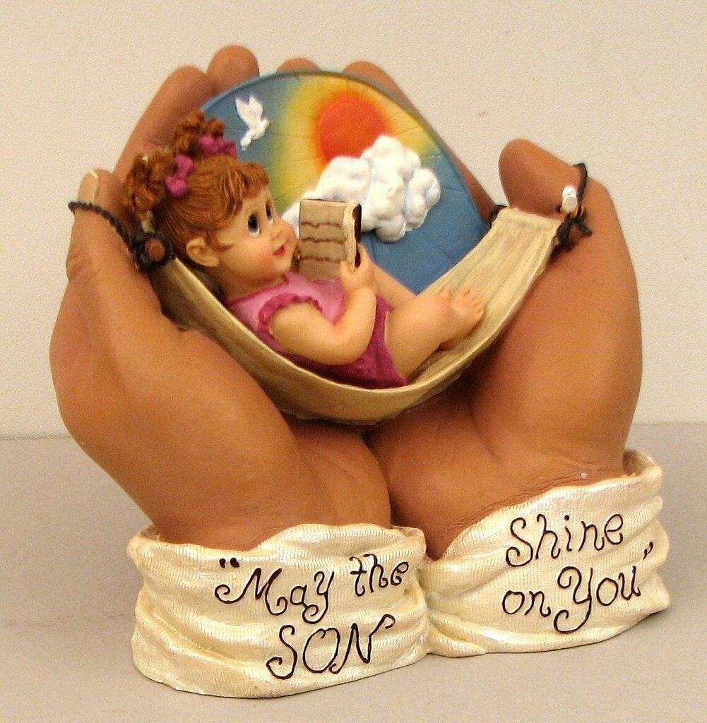 """IN HIS HANDS""  May the ""SON"" Shine on You."