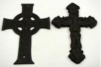Cast Iron Crosses 16 Pieces