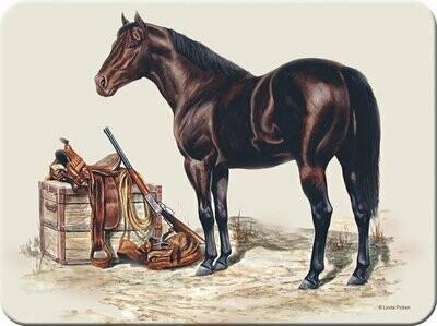 Horse Cutting Board/Hot Pad