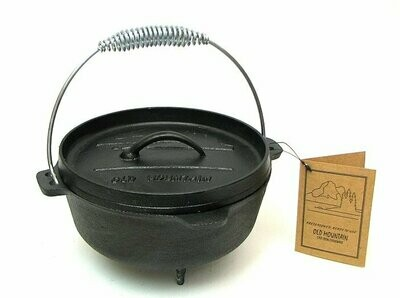 Old Mountain Small Dutch Oven With Feet
