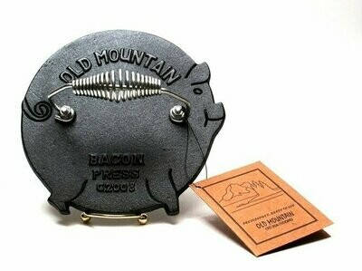 Old Mountain Cast Iron Pig Grill Press