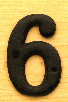 Solid Cast Iron Number 6 Bulk