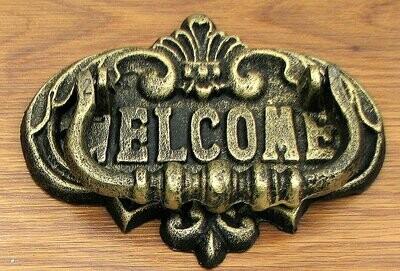Welcome Door Knocker