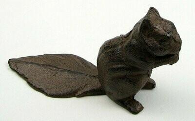 Squirrel Cast Iron Door Stop