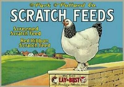 Tin Sign Scratch Feeds