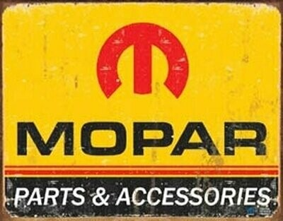 Tin Sign Mopar Logo '64 - '71