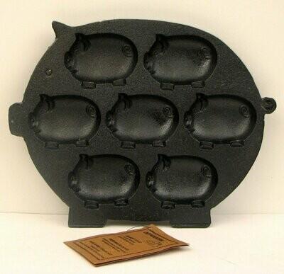 Cast Iron Pig Baking Pan