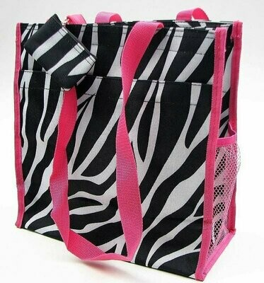 Zebra Carry All Bag/Purse