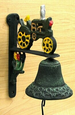 Cast Iron Tractor Bell