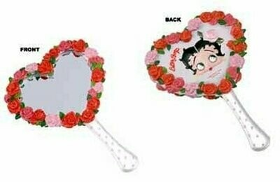 Betty Boop Bed of Roses Hand Mirror