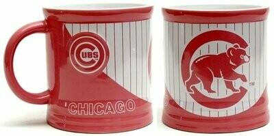 MLB Chicago Cubs Pink Stripe Mug 15oz