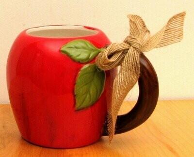 Ceramic Apple Mug