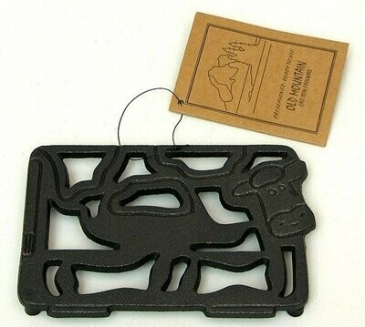 Old Mountain Cow Trivet