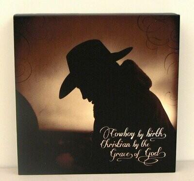Praying Cowboy Wall Art
