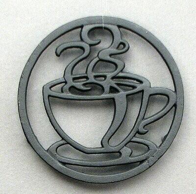 Cast Iron Coffee Cup Trivet