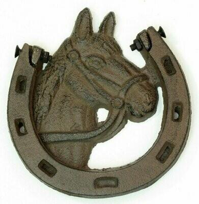 Cast Iron Horse Shoe Door Knocker