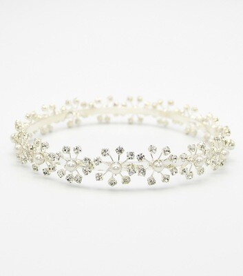 Crystal and Pearl Crown