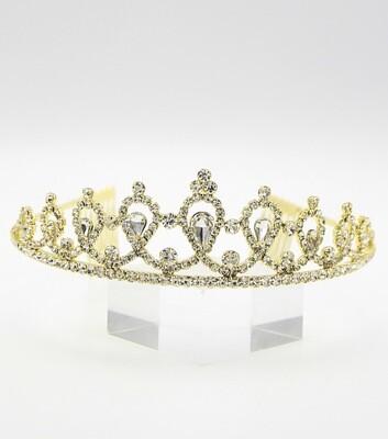 Crystal Pave Royal Tiara