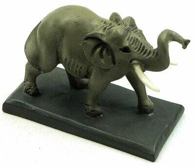 Male Elephant /w Tusks on Base