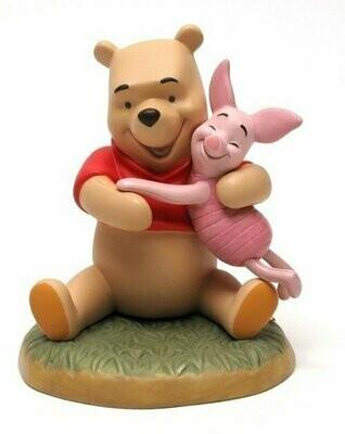 Disney Pooh Hugging Piglet