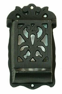 Heavy Cast Iron Match Holder Set of 2