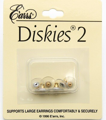 3 Pair Metal and Plastic Earring Backing