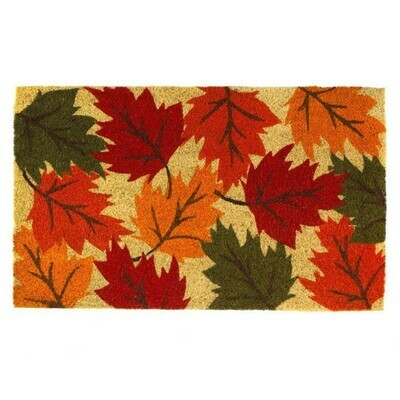 FALLING LEAVES AUTUMN DOORMAT